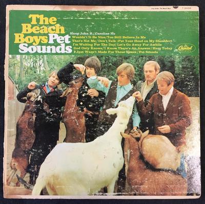BEACH BOYS, THE - PET SOUNDS Rare US Original Mono Pressing (LP)