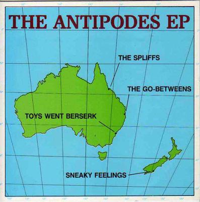 """VARIOUS ARTISTS (POP / ROCK) - SOUND AFFECT #4 - THE ANTIPODES EP Freebie With Go-Betweens, The Spliffs, etc. (7"""")"""