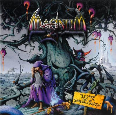 MAGNUM - ESCAPE FROM THE SHADOW GARDEN Rare Original Pressing With Blue Marbled Vinyl, Still Sealed! (2LP)
