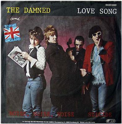 "DAMNED, THE - LOVE SONG+2 German sleeve, Lim Ed. 100x. (7"")"