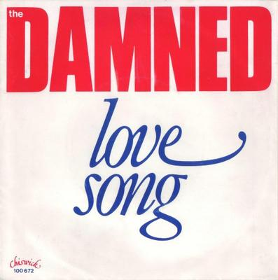 "DAMNED, THE - LOVE SONG+2 Dutch sleeve, Lim Ed. 100x. (7"")"