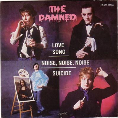"DAMNED, THE - LOVE SONG+2 French sleeve, Lim Ed. 100x. (7"")"