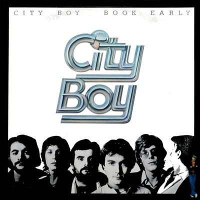 CITY BOY - BOOK EARLY Scandinavian pressing (LP)