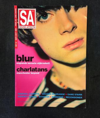 SOUND AFFECTS MAGAZINE - ISSUE #12 Contains Interviews With Blur. Inspiral Carpets & The Charlatans (MAG)