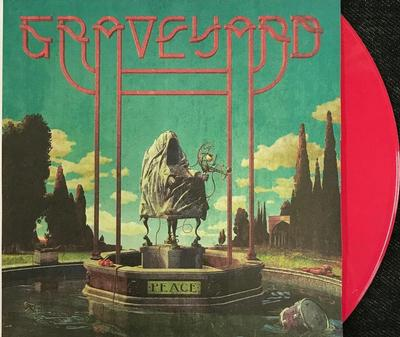 GRAVEYARD - PEACE Solid Red vinyl, Gatefold sleeve with Poster, Numbered Limited Edition 312 copies (LP)