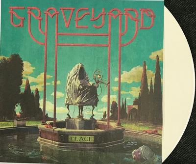 GRAVEYARD - PEACE Solid White vinyl, Gatefold sleeve with Poster, Numbered Limited Edition 1000 copies (LP)
