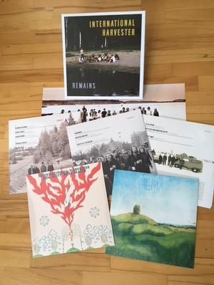 INTERNATIONAL HARVESTER - REMAINS 5 LP BOX, SPECIAL PRICE !! Limited Edition 1000 copies RSD2018 (5LP)
