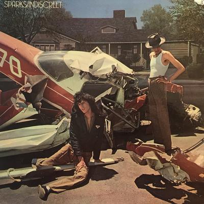 SPARKS - INDISCREET Swedish pressing, gatefold sleeve (LP)