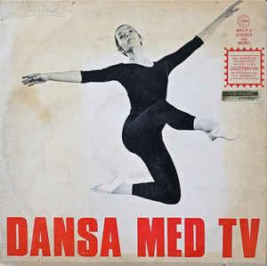 """JOHANSSON, JAN - DANSA MED TV small wobc ( date of purchase """"nov-66"""" ) and some non audioable hairlines (LP)"""