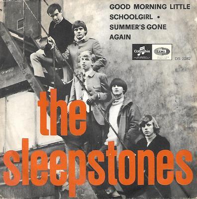 "SLEEPSTONES, THE - GOOD MORNING LITTLE SCHOOLGIRL / SUMMER'S GONE Rare Swedish beat, 1966 (7"")"