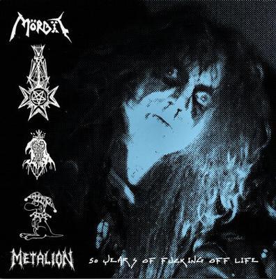 MÖRBIT - METALION: 50 YEARS OF FUCKING OFF LIFE Blue Vinyl Pressing (LP)