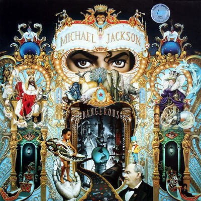 JACKSON, MICHAEL - DANGEROUS Rare double vinyl edition! (2LP)