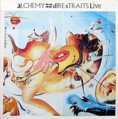 DIRE STRAITS - ALCHEMY - DIRE STRAITS LIVE Double album, Dutch pressing (2LP)