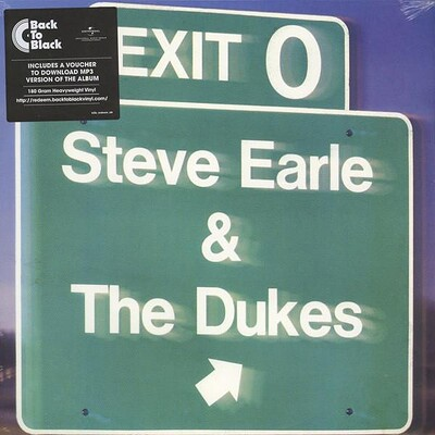 EARLE, STEVE & THE DUKES - EXIT 0 180g Reissue of 1987 album (LP)