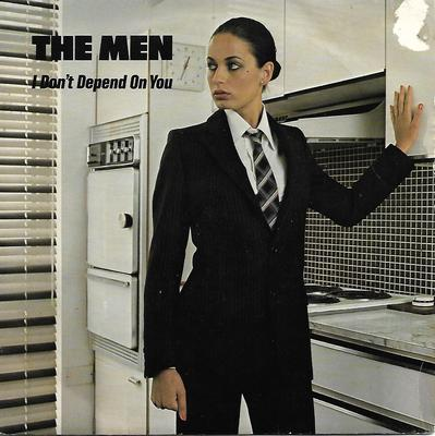 "MEN, THE (HUMAN LEAGUE) - I DON'T DEPEND ON YOU / CRUEL Rare UK ps, Human League under pseudonym (7"")"