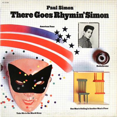 SIMON, PAUL - THERE GOES RHYMIN' SIMON US original Pressing , Top copy (LP)
