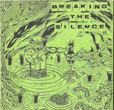 """VARIOUS ARTISTS (PUNK / HARDCORE) - BREAKING THE SILENCE Yellow Vinyl Pressing With Numbered Sleeve (7"""")"""