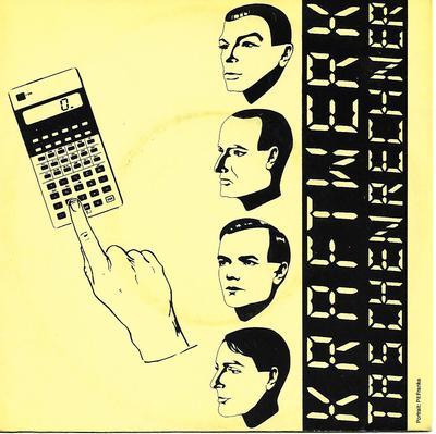 """KRAFTWERK - TASCHENRECHNER / DENTAKU German ps, Pocket Calculator (7"""")"""