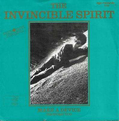 "INVINCIBLE SPIRIT, THE - MAKE A DEVICE / PROVOKE YOU Rare German ps edition! (7"")"