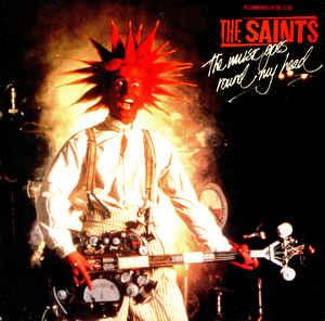 """SAINTS, THE - THE MUSIC GOES ROUND MY HEAD / Limited Edition Aussie Press (7"""")"""