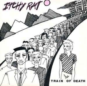 "ITCHY RAT - TRAIN OF DEATH / Silent Footsteps (7"")"