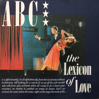 ABC - THE LEXICON OF LOVE German pressing, The Look of love, Poison arrow (LP)
