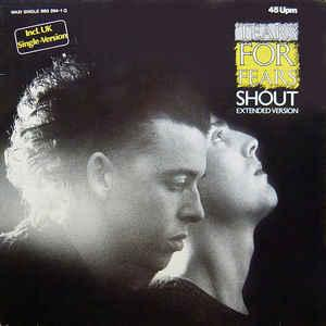 """TEARS FOR FEARS - SHOUT (EXTENDED VERSION) German maxi single (12"""")"""
