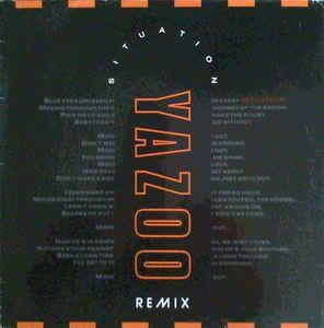 "YAZOO - SITUATION (REMIX) German 1990 maxi single (12"")"