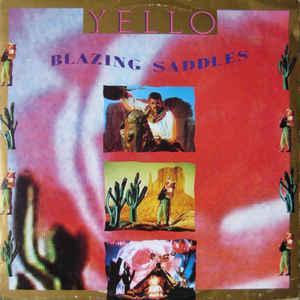"""YELLO - BLAZING SADDLES UK maxi single (12"""")"""