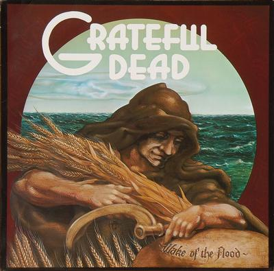 GRATEFUL DEAD, THE - WAKE OF THE FLOOD German Pressing On White Vinyl (LP)