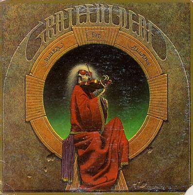 GRATEFUL DEAD, THE - BLUES FOR ALLAH Italian 1981 Pressing (LP)