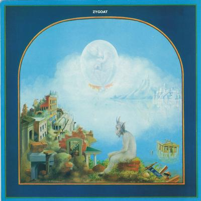 ZYGOAT - S/T Rare UK Original Pressing With Textured Sleeve (LP)