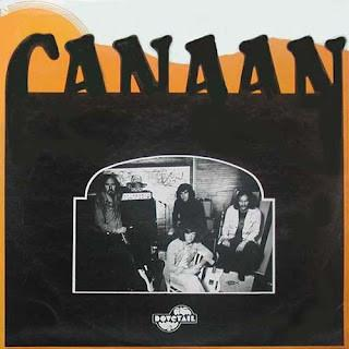 CANAAN - S/T UK Original Pressing With Laminated Sleeve (LP)