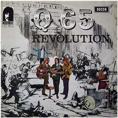 Q65 - REVOLUTION Dutch 1972 Pressing With Laminated Sleeve (LP)