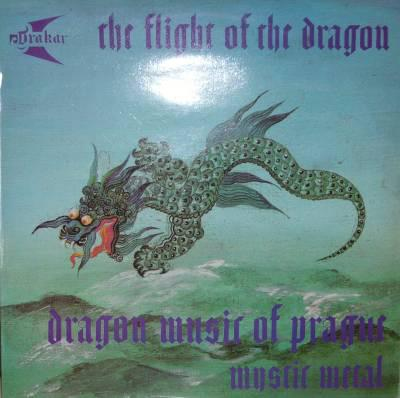 DRAKAR - THE FLIGHT OF THE DRAGON Czechoslovakian Heavy Metal (LP)