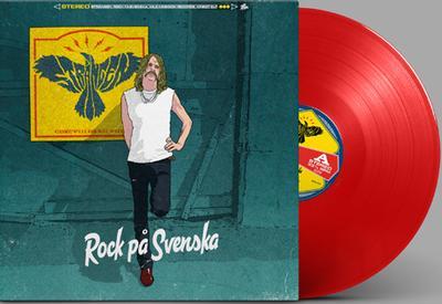 "DAHLQVIST, ROBERT ""Strängen"" - ROCK PÅ SVENSKA Red Vinyl Limited Edition 300 copies , Hot Stuff Exclusive (LP)"