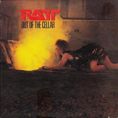 RATT - OUT OF THE CELLAR U.S. pressing (LP)