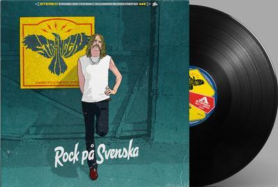 """DAHLQVIST, ROBERT """"Strängen"""" - ROCK PÅ SVENSKA Black Vinyl (LP)"""