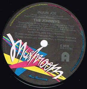 """THE JOHNNYS - INJUN JOE / Cannonball (7"""")"""