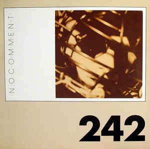 FRONT 242 - NO COMMENT German pressing (LP)