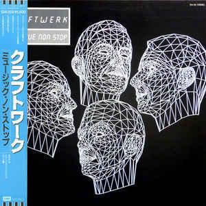 KRAFTWERK - MUSIQUE NON STOP Rare Japanese edition with OBI and insert! (LP)