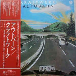 KRAFTWERK - AUTOBAHN Rare Japanese original edition, red OBI and including insert! (LP)