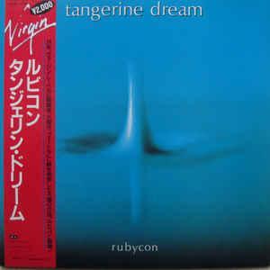 TANGERINE DREAM - RUBYCON Rare Japanese 1982 edition, gatefold sleeve with OBI and insert! (LP)