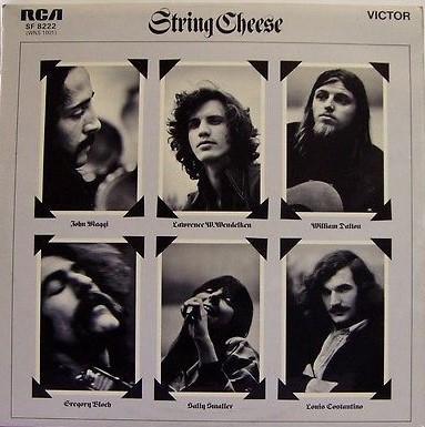 STRING CHEESE - STRING CHEESE Scarce UK 1972 prog/folk album (LP)