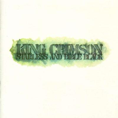 KING CRIMSON - STARLESS AND BIBLE BLACK Rare Swedish original (LP)