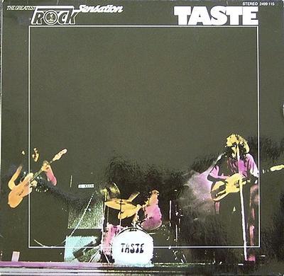 TASTE - ROCK SENSATION German 1975 compilation (LP)
