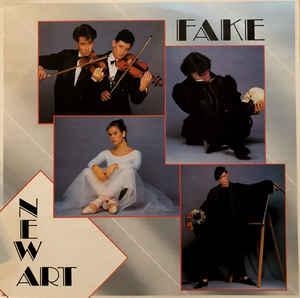 FAKE - NEW ART Classic Swedish 1984 synthpop! (LP)