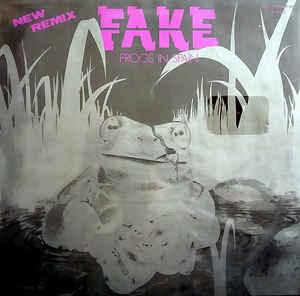 """FAKE - FROGS IN SPAIN (NEW REMIX) German maxi single (12"""")"""