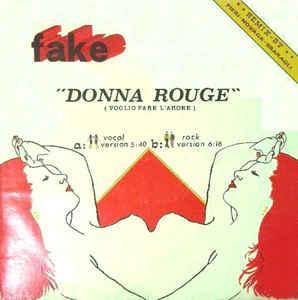 "FAKE - DONNA ROUGE Scarce Italian maxi single, Did Records (12"")"