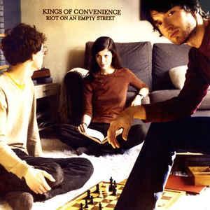 KINGS OF CONVENIENCE - RIOT ON AN EMPTY STREET U.S. 2016 brown vinyl edition (LP)
